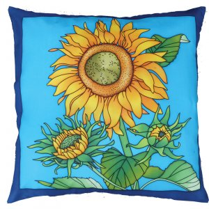Tournesols (Sunflowers) cushion cover DISC (1 left)