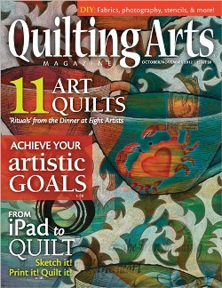 Quilting Arts Oct/Nov 2012 SOLD OUT