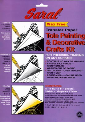 Saral Wax-free Transfer Paper for Tole Painting & Decorative Crafts (2)