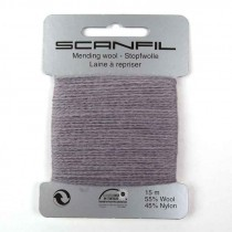 Scanfil Mending/Darning Wool 15m - colours sent at random (7)