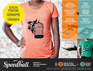 Speedball Intermediate Screen Printing Kit NEW