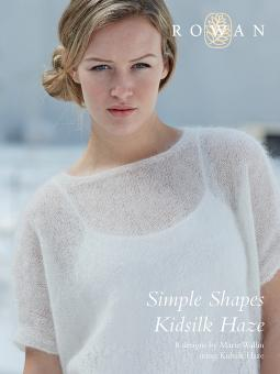 """Simple Shapes Kidsilk Haze"" booklet from Rowan SOLD OUT"