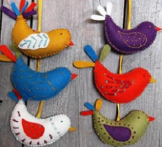 Corinne Lapierre kit - Summer Birds - makes 6 (1)