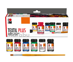 Marabu Textil Plus Starter Set