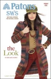"""The Look"" pattern booklet using Patons SWS yarn (5)"