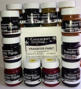Colourcraft Fabric Transfer Paint Set OUT OF STOCK