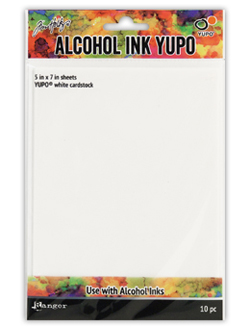Ranger Yupo sheets for alcohol inks