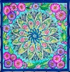 Style - Ideen habotai 8 square ready-outlined silk scarf (1)