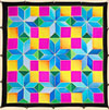 Ideen ready-outlined square silk scarf 55 x 55cm - Cross NEW