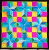 Cross -  Ideen habotai 8 square ready-outlined silk scarf (2)