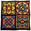 Cici -  Ideen habotai 8 square ready-outlined silk scarf (3)