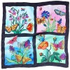 Ideen ready-outlined square silk scarf 55 x 55cm - Summer NEW