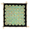 Time -  Ideen habotai 8 square ready-outlined silk scarf (1)