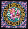 Chine -  Ideen habotai 8 square ready-outlined silk scarf (2)
