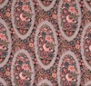 Downton Abbey fabric - Lady Edith's Medallion - 235 x 112cm remnant