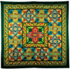 Alhambra PWG square silk scarf DISC - OUT OF STOCK