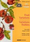 """Fruit Variations Cross-stitch"" booklet from DMC (5)"