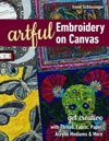 """Artful Embroidery on Canvas"" by Irene Schlesinger NEW (2)"
