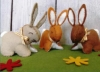 Corinne Lapierre kit - Felt Bunnies - makes 3