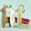 Corinne Lapierre kit - 3 Felt Llamas NEW OUT OF STOCK