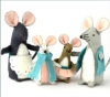 Corinne Lapierre kit - Mouse Family - makes 4 OUT OF STOCK