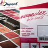 H Dupont Ready-outlined Silk Colour Chart - to fill in with your own colours
