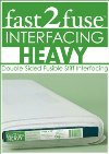 Fast 2 Fuse Interfacing Heavyweight - 190 x 55cm remnant