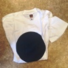 Fruit of the Loom T-shirt - White with Blue Circle