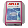 Gelli Arts Stamping & Printing Kit for paper & card (4)
