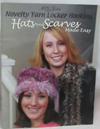 """Novelty Yarn Locker Hooker: Hats and Scarves Made Easy"" booklet (1)"