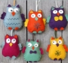 Corinne Lapierre kit - Happy Owls - makes 6 OUT OF STOCK