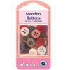 Hemline Menders - 30 assorted small buttons (different packaging) (8)