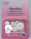 Hemline Menders - 15 spare clear buttons (2)