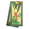 Jungle by Veronique Paulus - H Dupont ready-outlined 180cm long silk scarf NEW - OUT OF STOCK
