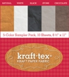Kraft Tex 5-colour Sampler Pack