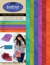 Kraft Tex Hand-dyed and Prewashed 6 Colour Sampler Pack NEW