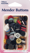 Hemline Mender Buttons - pack of 100 small