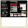 NEW Pebeo Mixed-media Art Panel Project kit Red/Black UK MAINLAND DELIVERY ONLY (3 left)