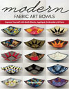 """Modern Fabric Art Bowls"" Kirsten Fisher NEW"