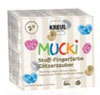 Javana MUCKI Finger Paint for Fabric Twinkling Magic Set of 4, age 2+ NEW
