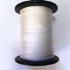 White Pure Silk Ribbon 2mm wide, by the metre - ready to dye or paint