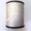 White Pure Silk Ribbon 4mm wide, by the metre - ready to dye or paint