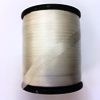 White Pure Silk Ribbon 7mm wide, by the metre - ready to dye or paint