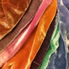 Natali Stewart Hand-dyed Silk/Viscose Velvet - OUT OF STOCK