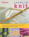 """Learn To Knit"" Patons SOLD OUT"
