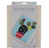 Trimits 9 Count Punch Needle Fabric in Frame NEW