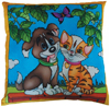 Chien-Chat Cushion Cover