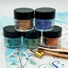 Jacquard Pearl-Ex mini set of 5 Colours with FREE Gum Arabic NEW
