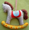 Corinne Lapierre kit - 2 Rocking Horses