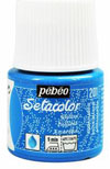 Pebeo Setacolor Light Glitter fabric paints